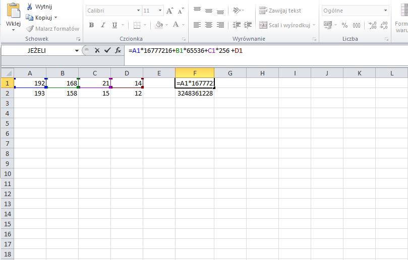 konwerter - ip - to - decimal - excel