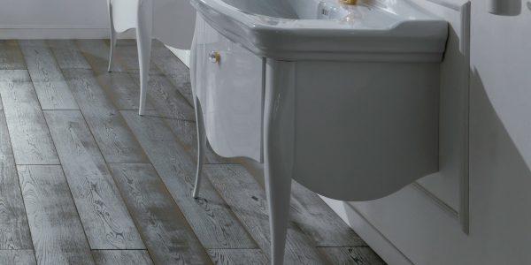 Cudowne łazienki w stylu retro